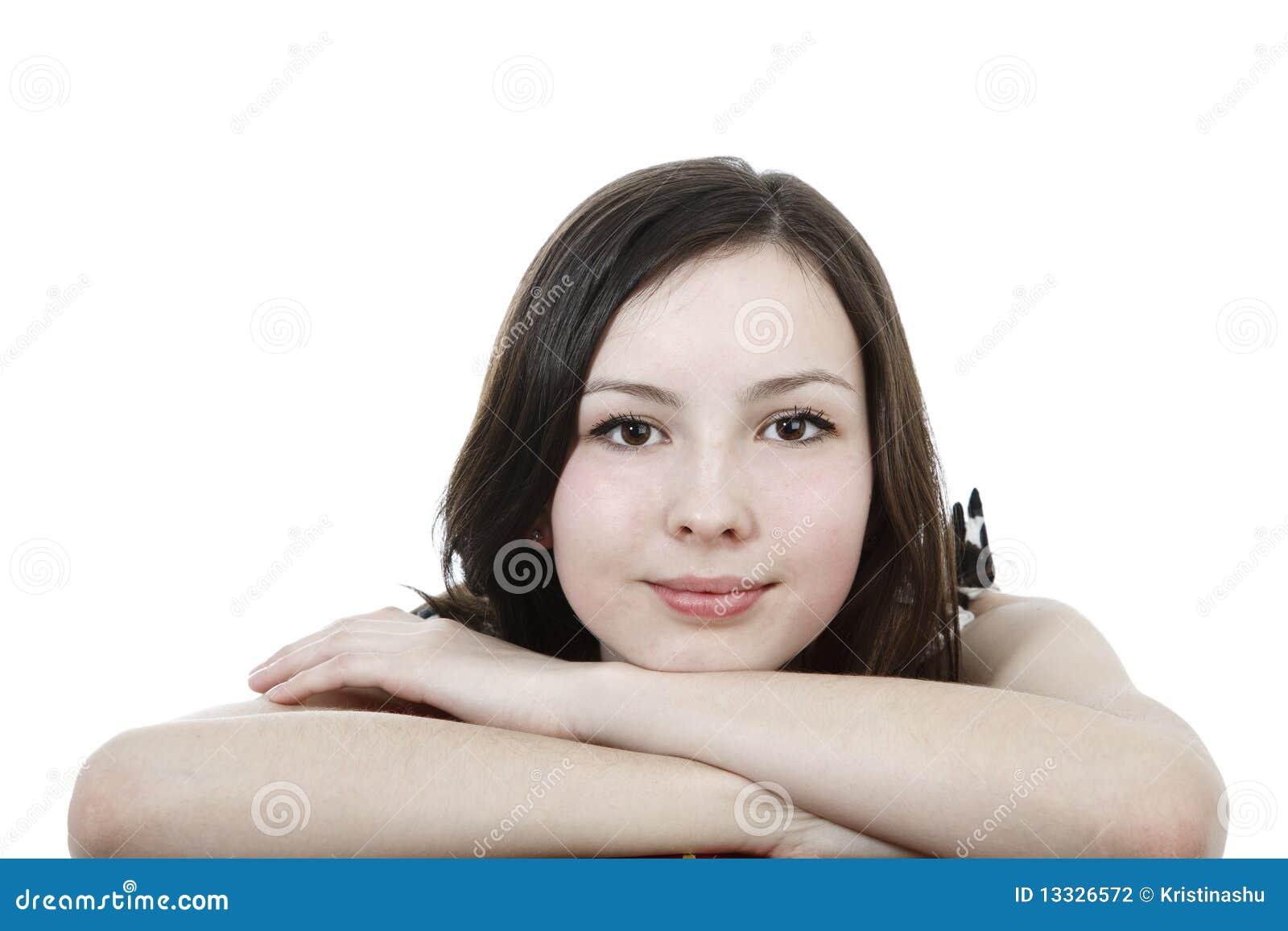 Dziewczyna atrakcyjny portret