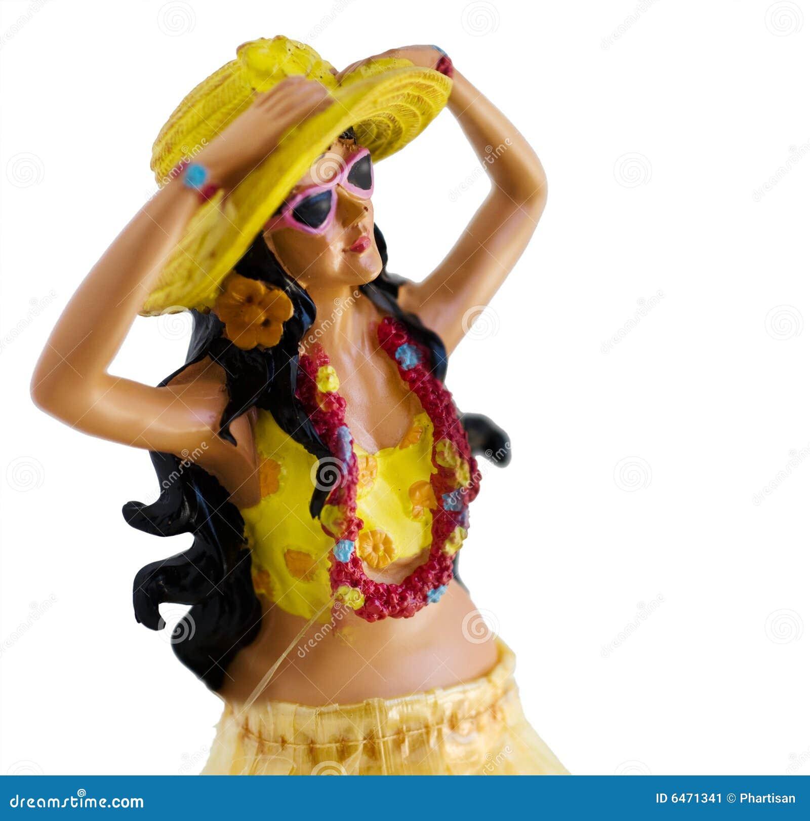 Dziewczyna hula