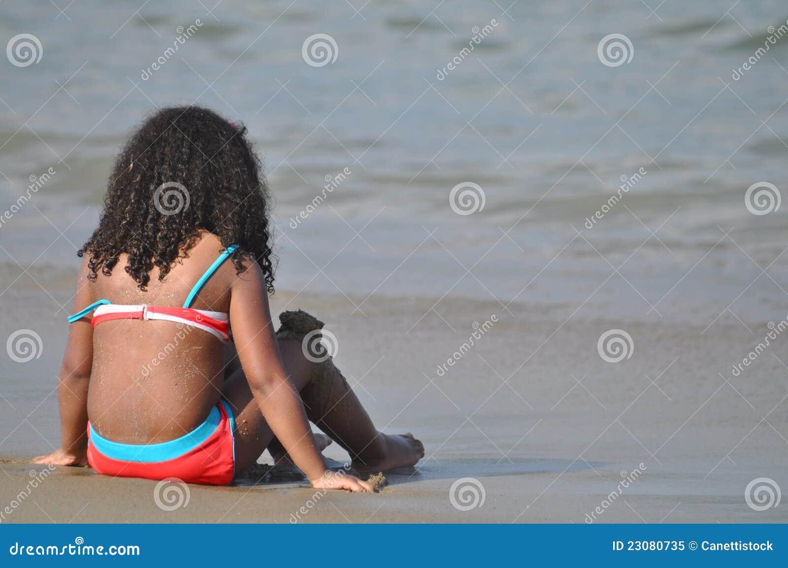 Dziewczyna i ocean