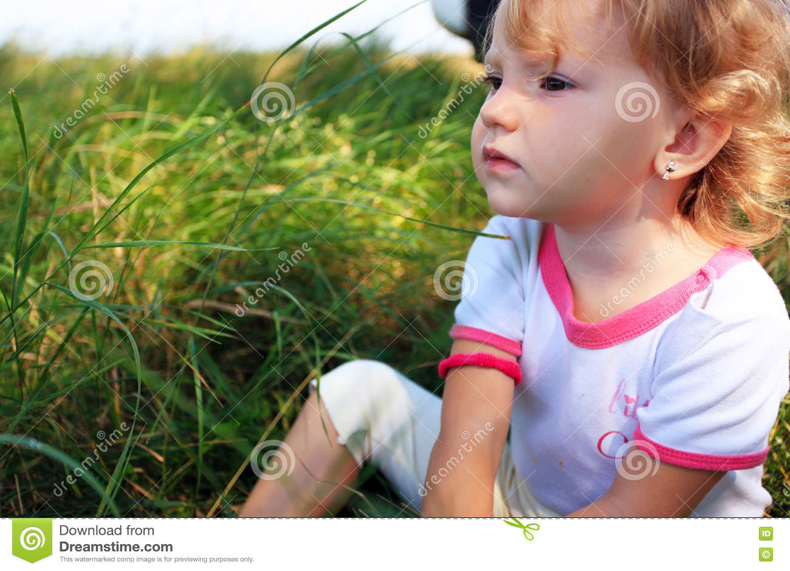 Dziewczyna ogrodowa