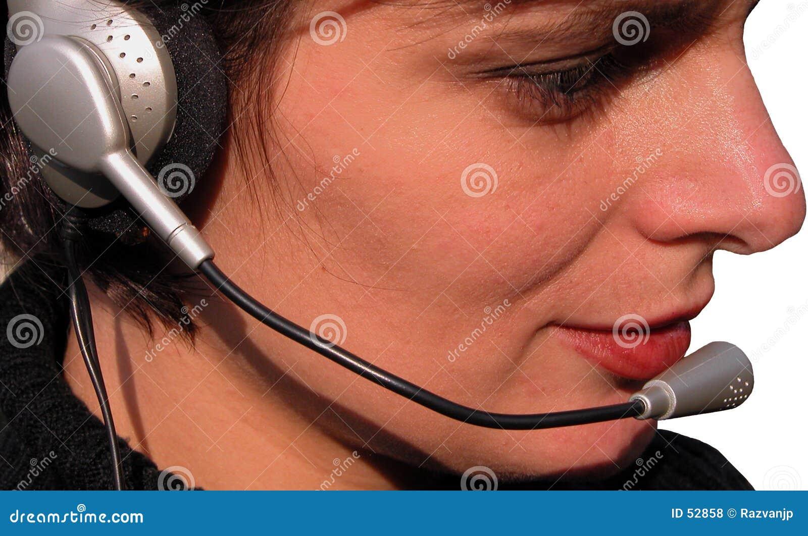 Dziewczyna operatora
