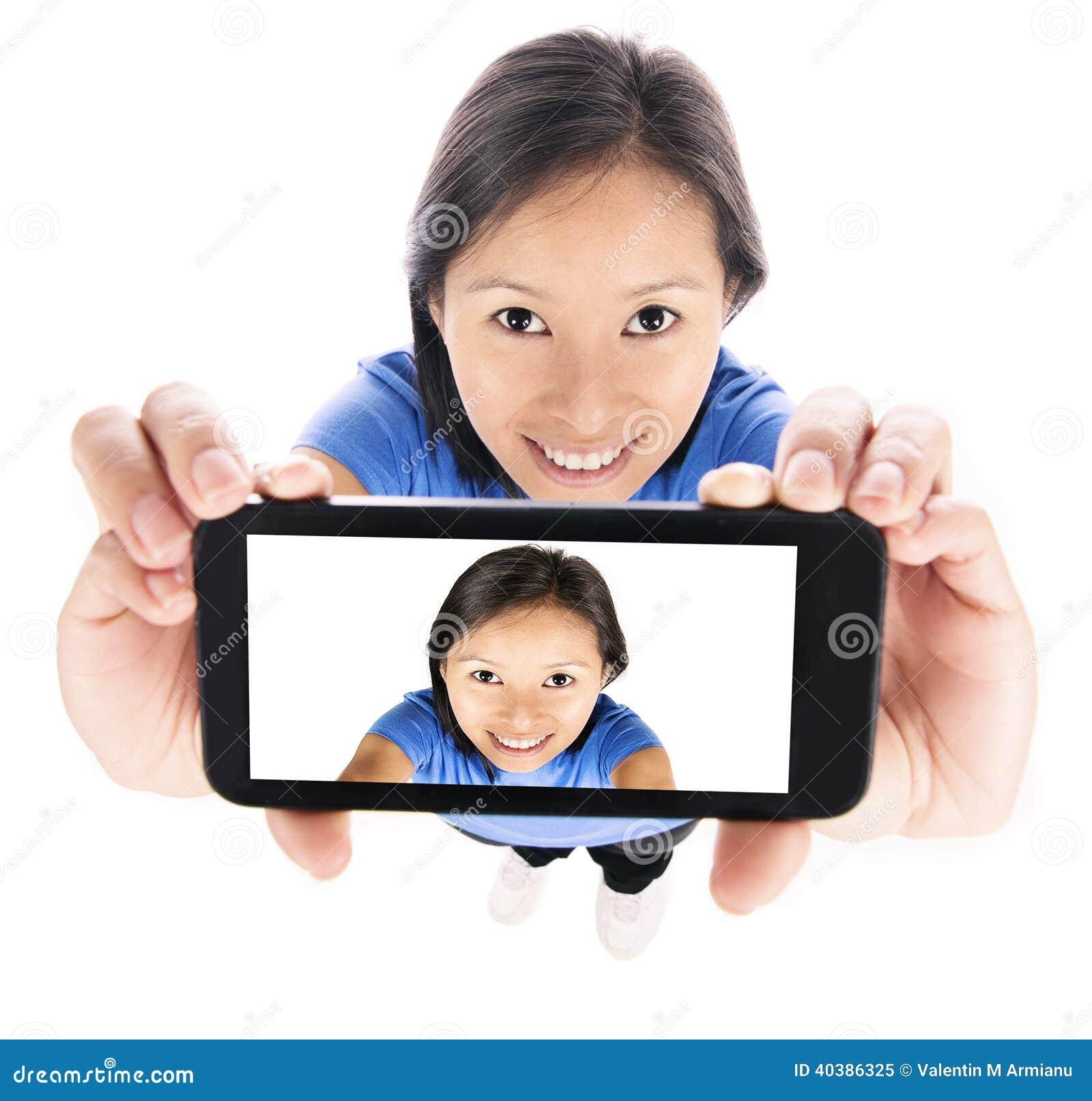 Dziewczyna Selfie