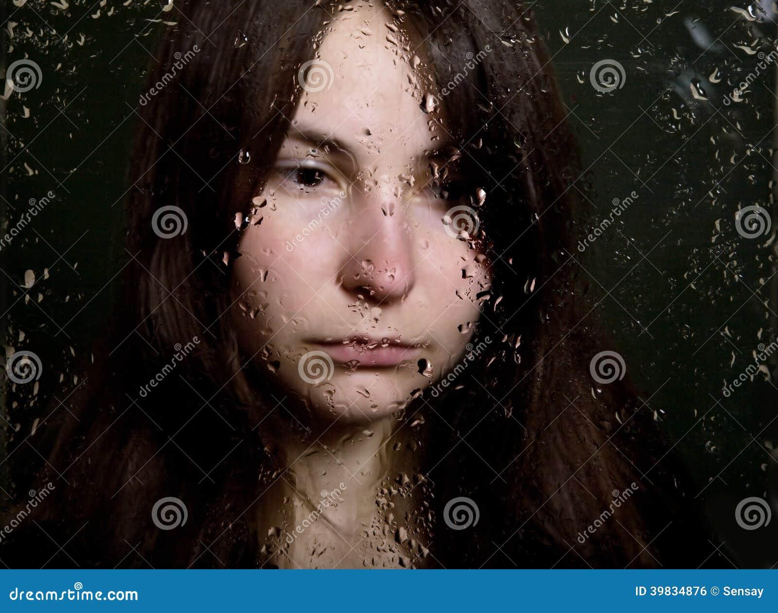 Dziewczyna w depresji