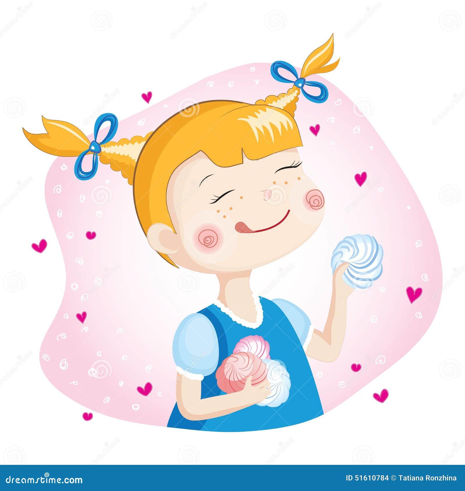 Dziewczyna Z Marshmallow