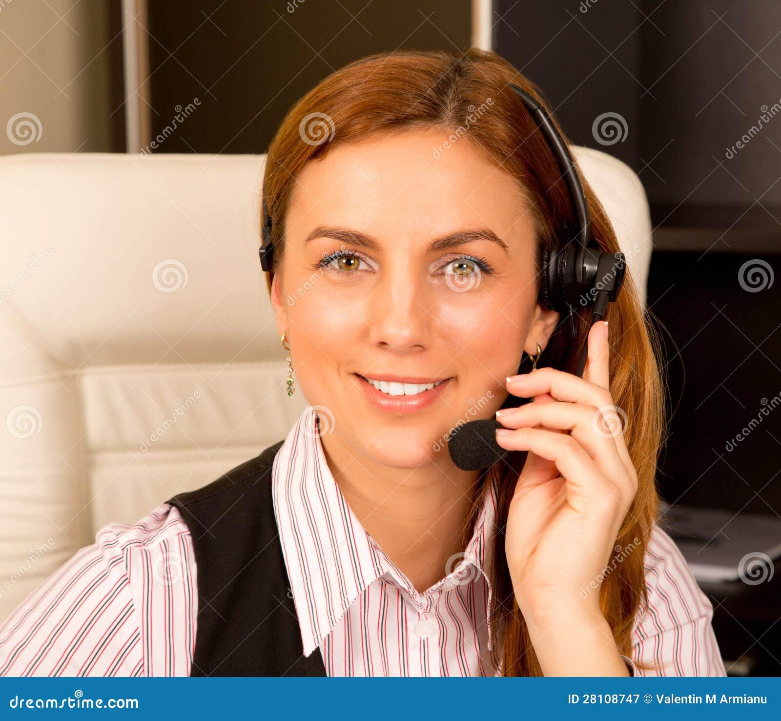 Dziewczyna z słuchawki