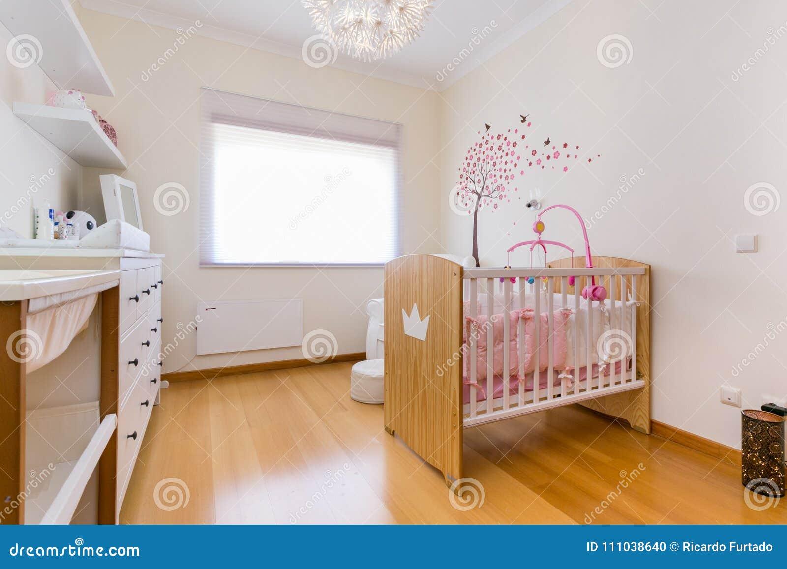 Dziewczynki Sypialnia Zdjęcie Stock Obraz Złożonej Z