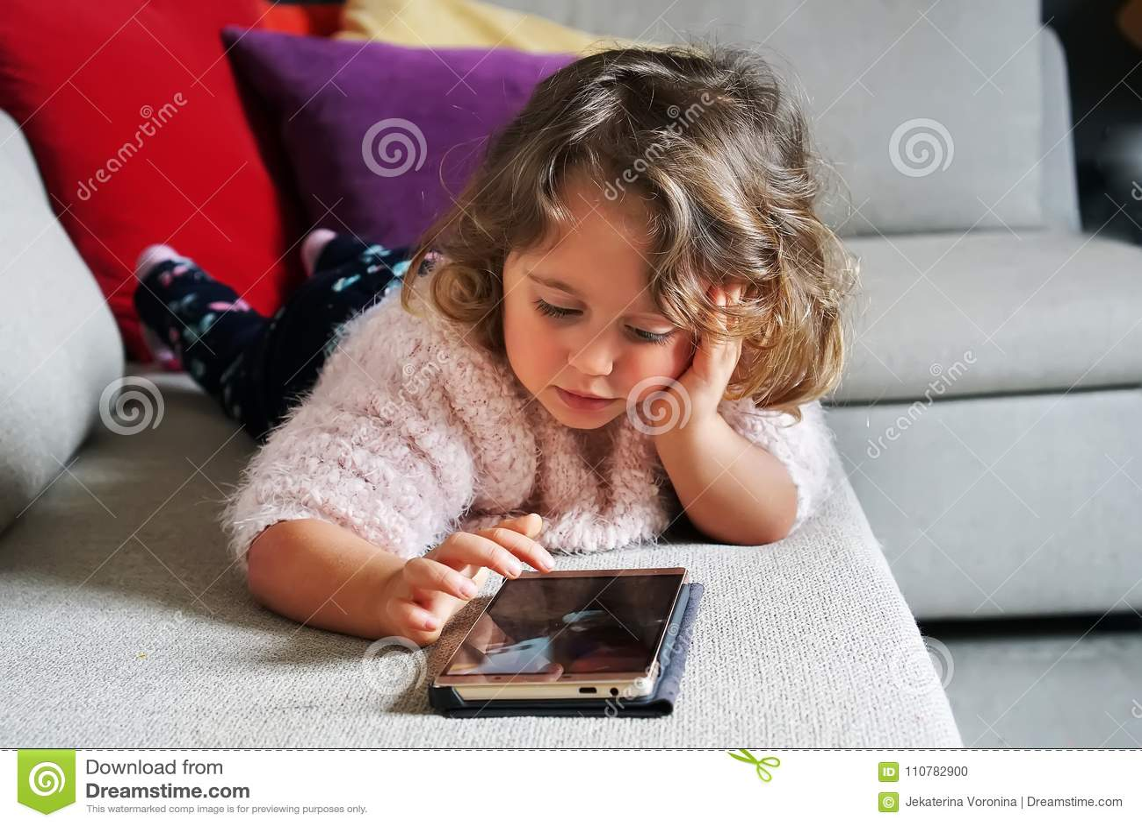 Dziewczynki telefon komórkowy