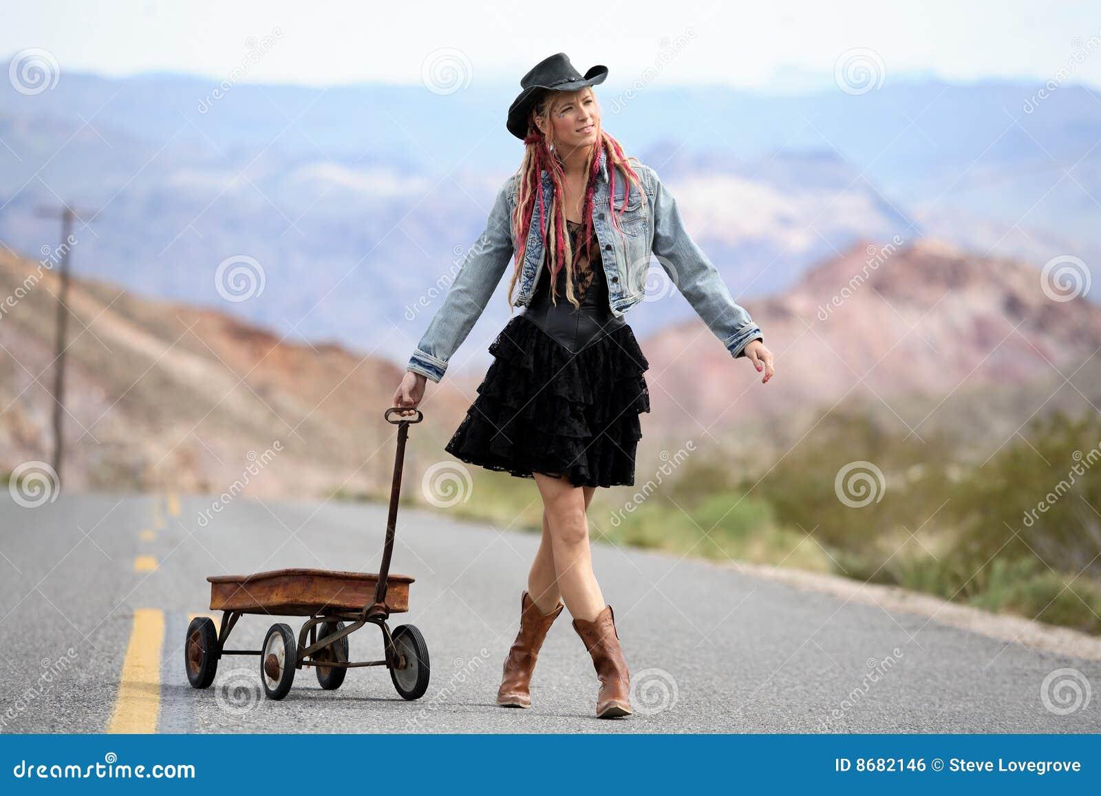 Dziewczyny autostrada