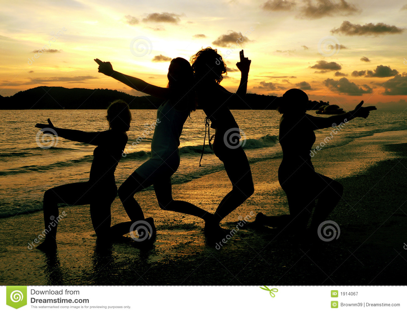Dziewczyny Langkawi beach pozować