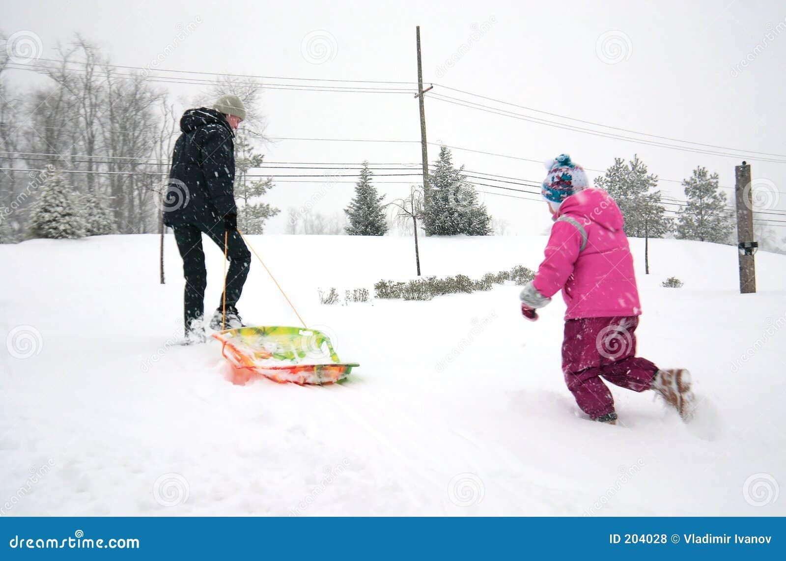 Dziewczyny mamy zimę zabawy