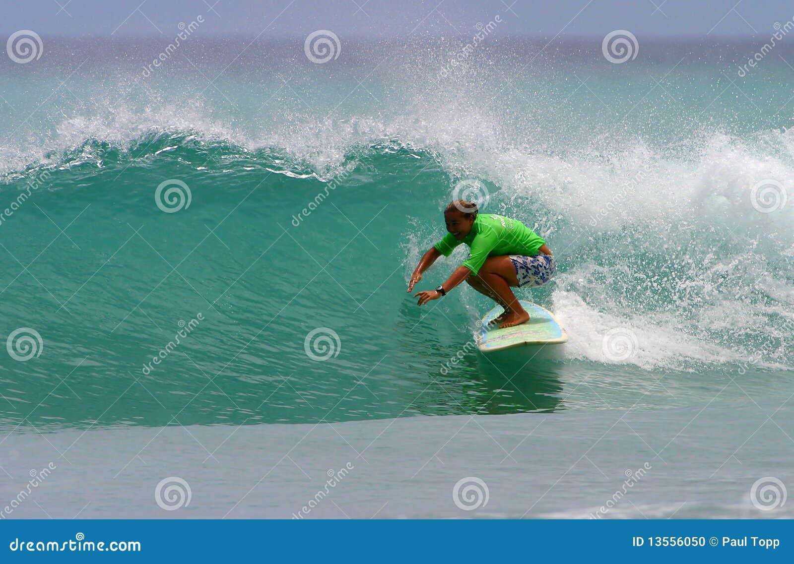 Dziewczyny radości monahan pro surfingowa surfing