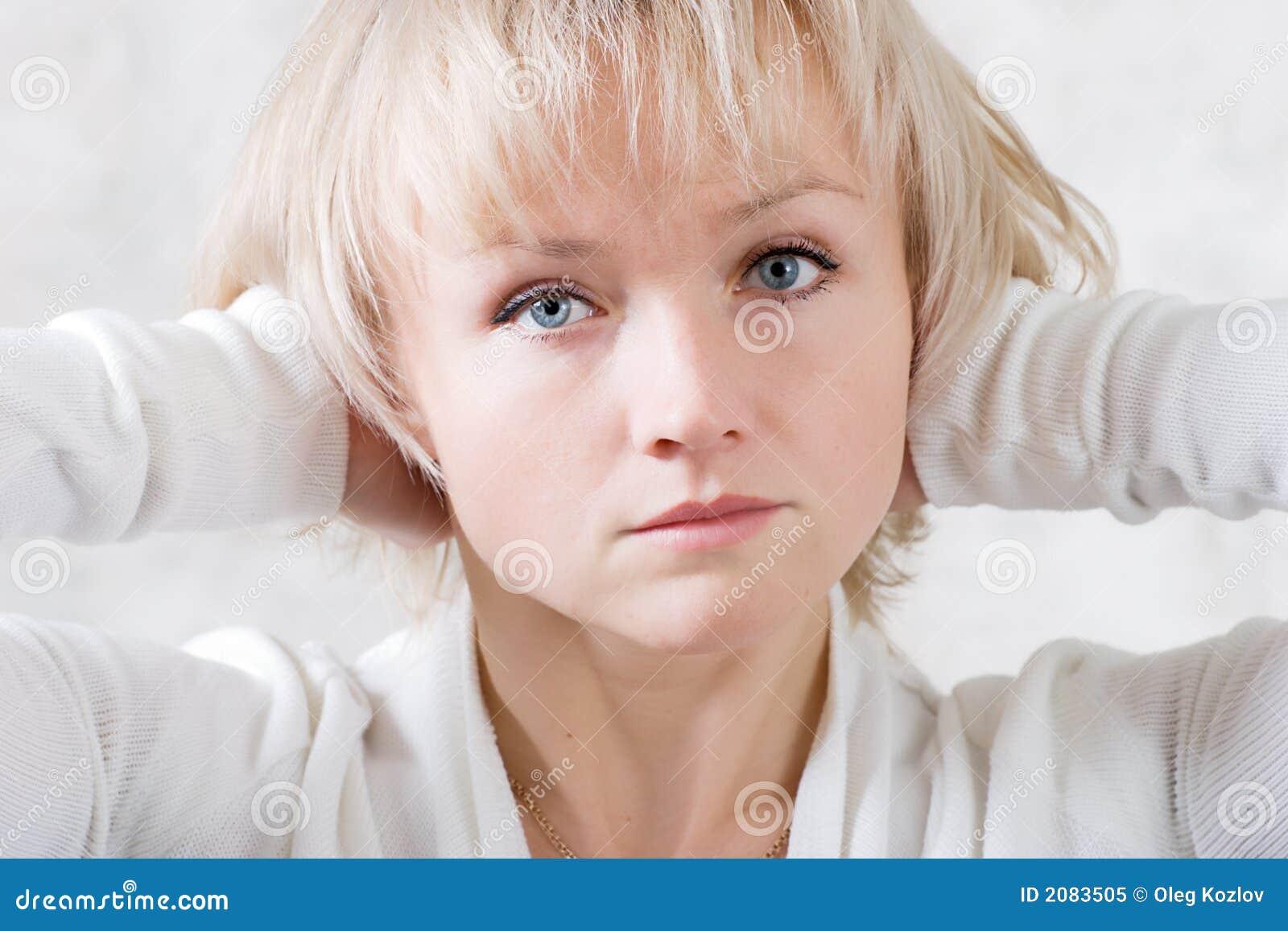 Dziewczyny smutek