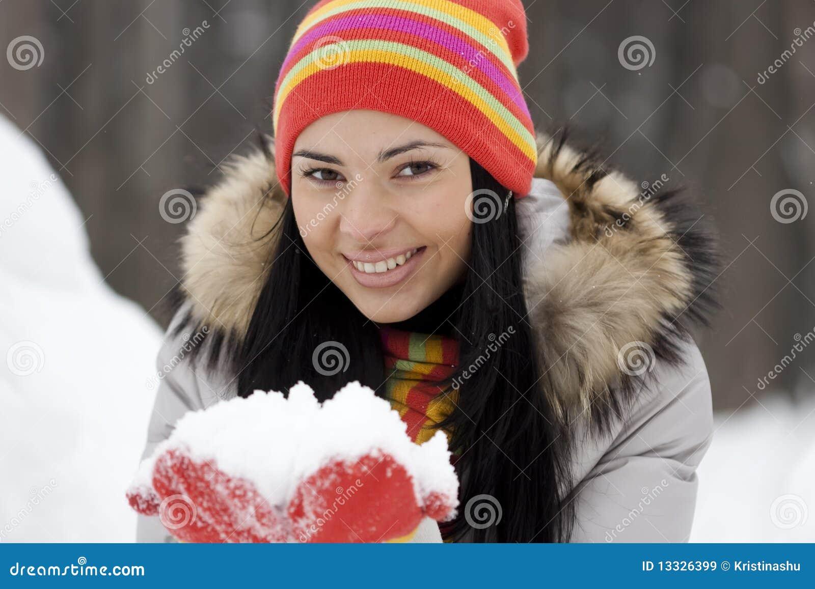 Dziewczyny zima