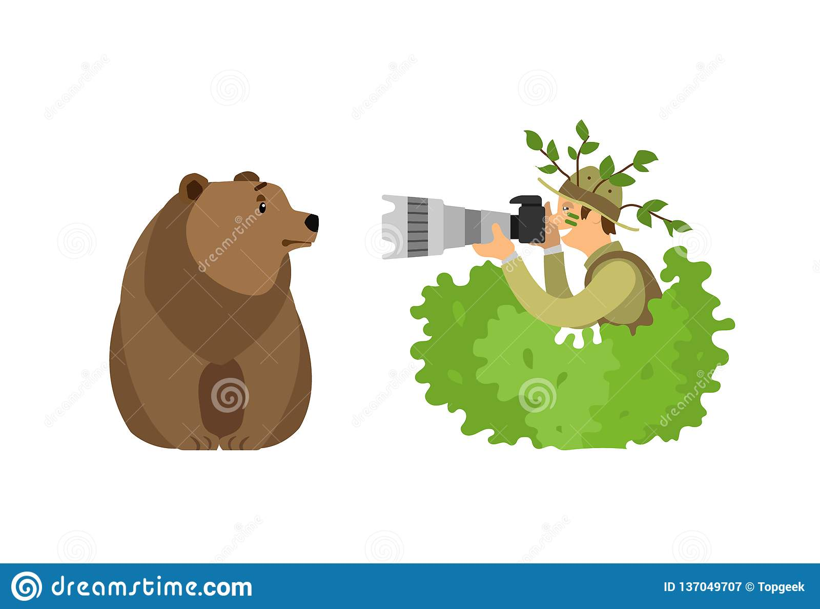 Dzikie Zwierzę fotografa grizzly Mknący niedźwiedź