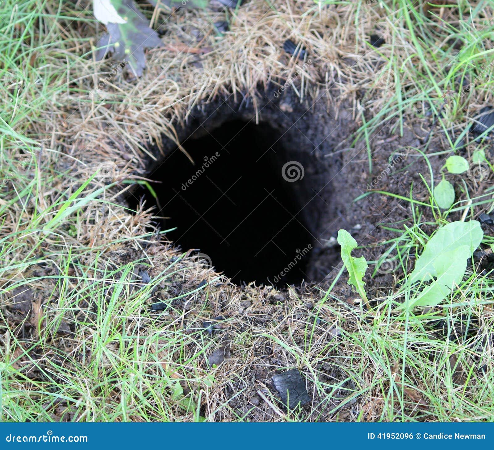 Dziura w ziemi