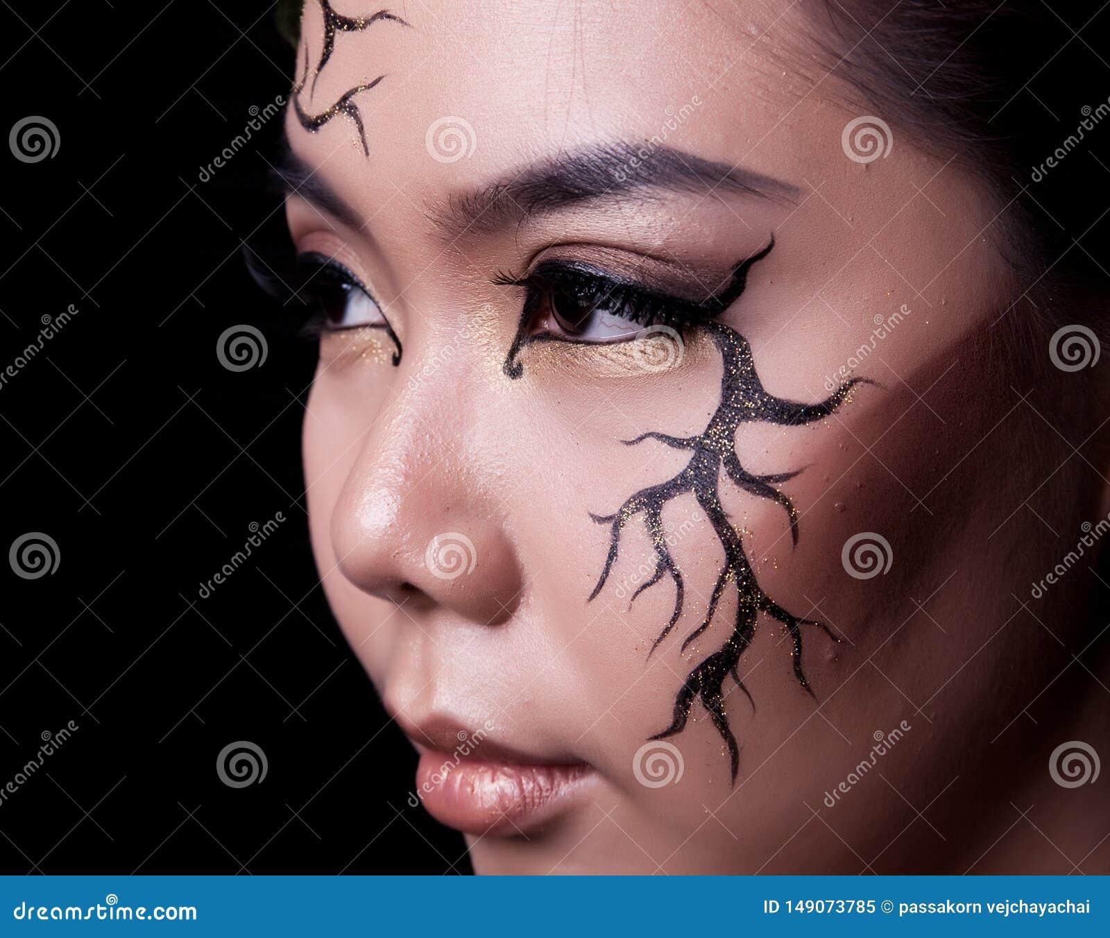 E Δημιουργικό makeup