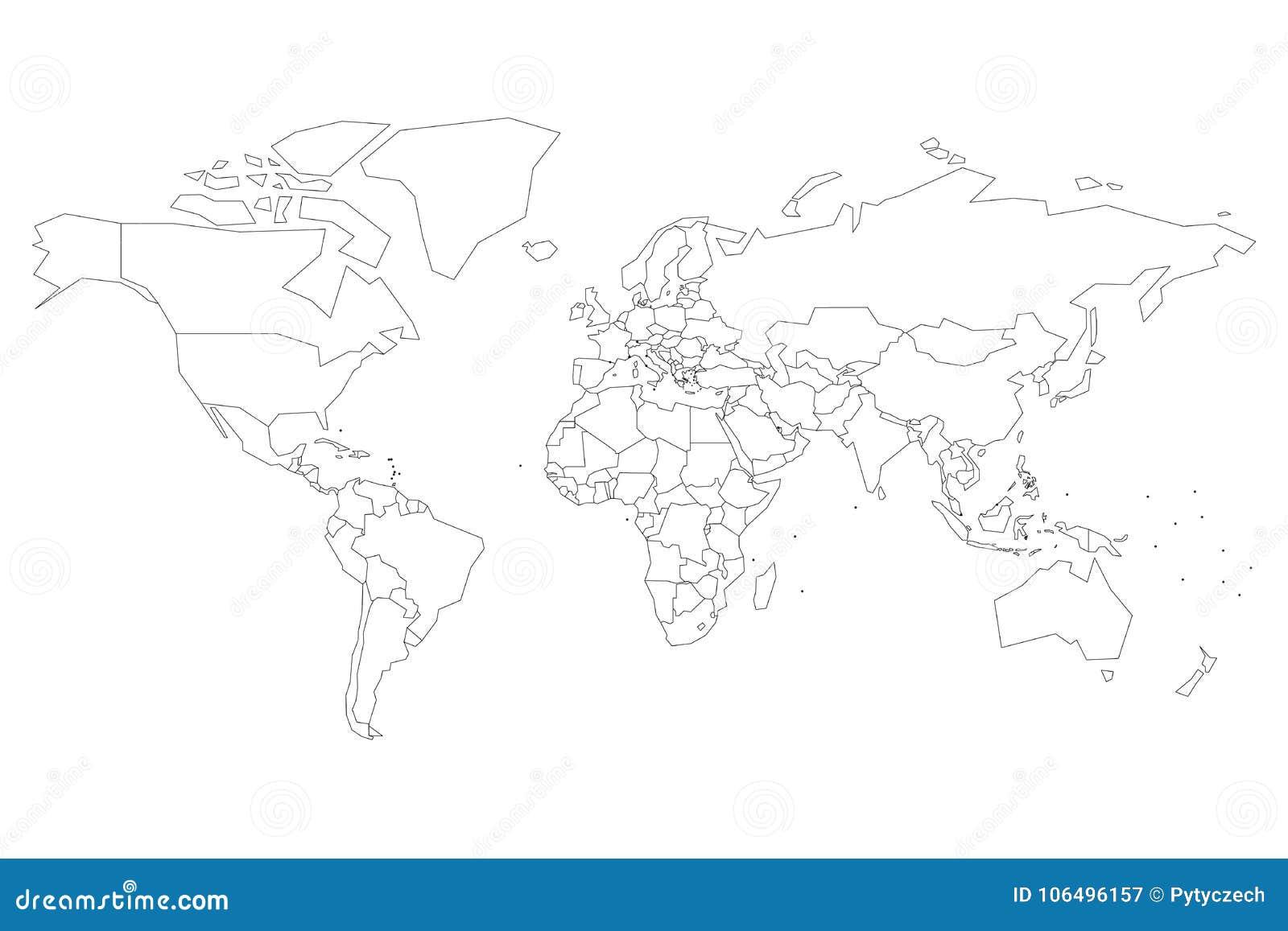 E Пустая карта для викторины школы r