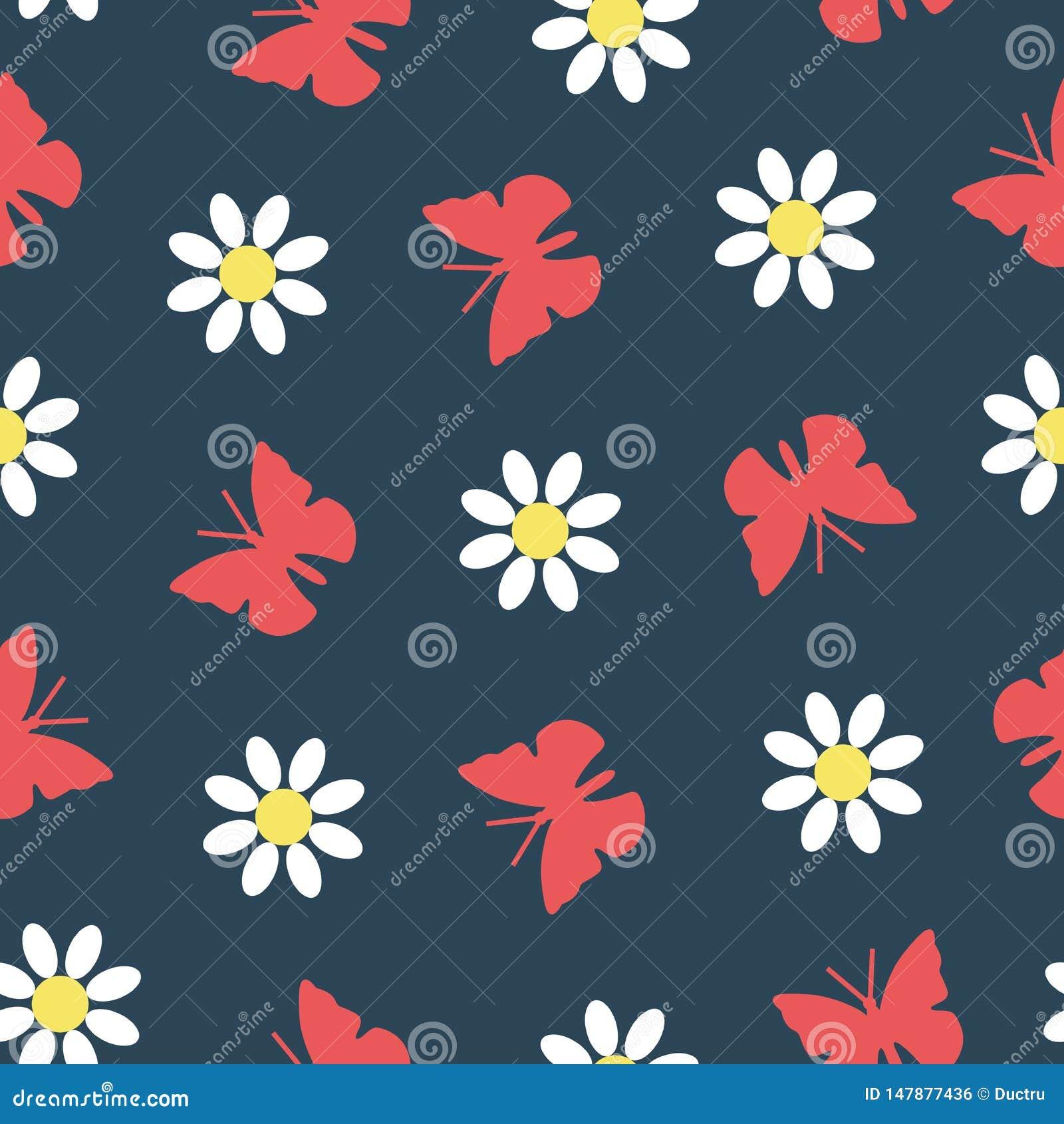 E 蝴蝶和花纹花样
