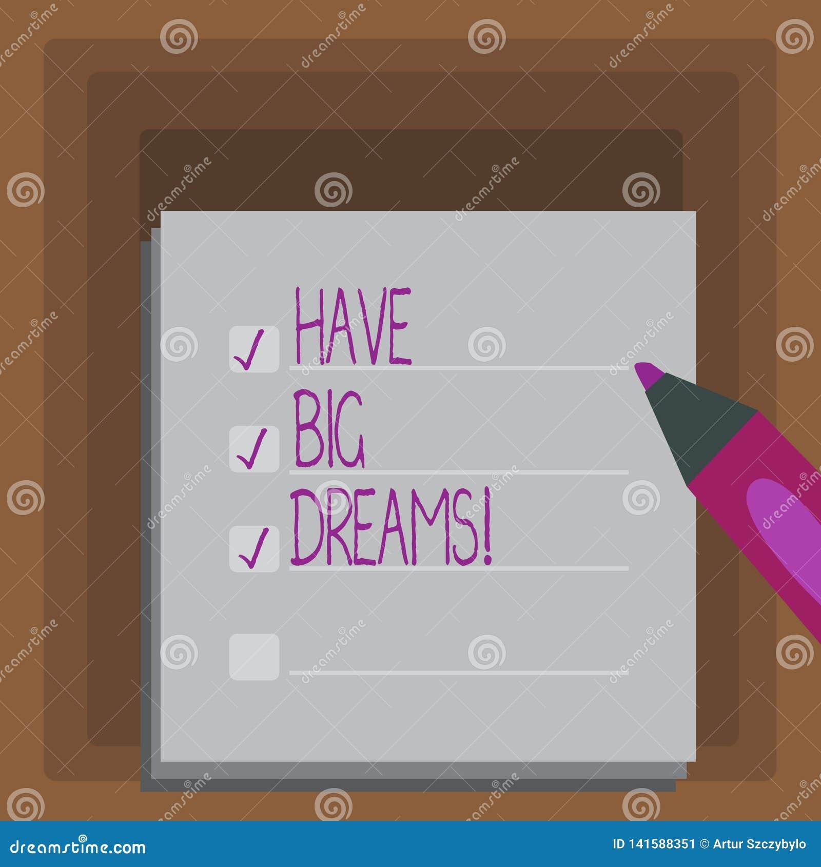 E Ambição futura apresentando Desire Motivation Goal da foto do negócio