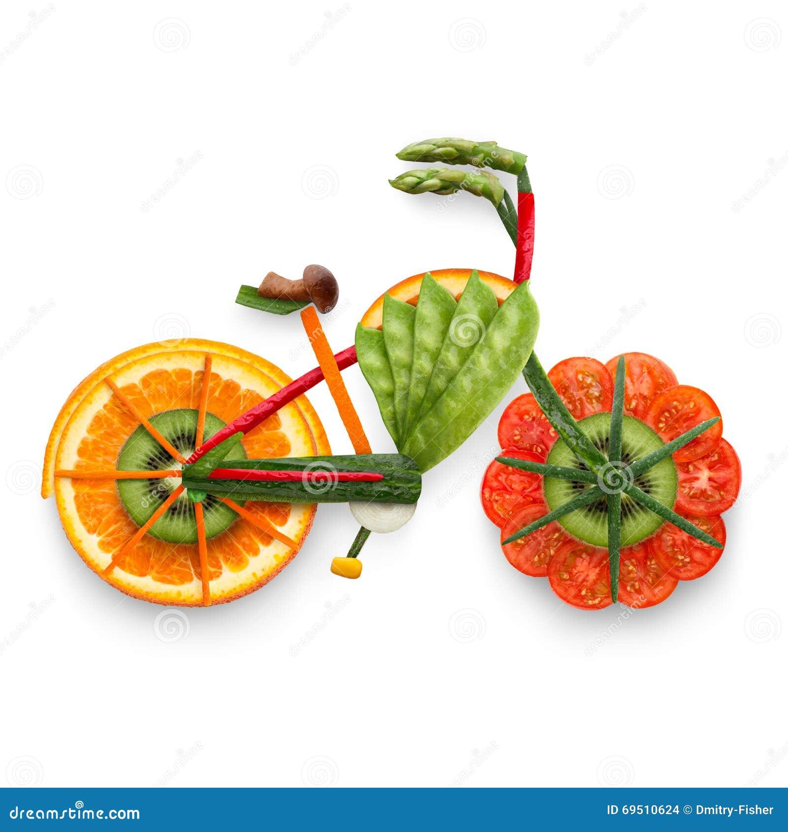 E-bici con sabor a fruta