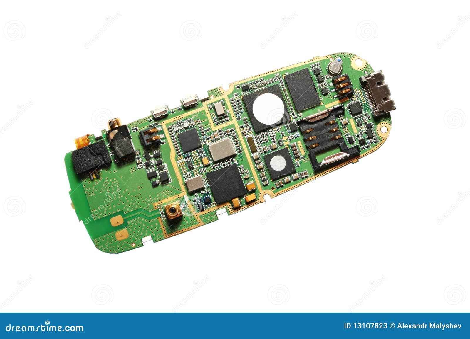 E Board Cellular Phone Stock Image Of Micro Macro 13107823 Cell Pcb Boardmobile Circuit