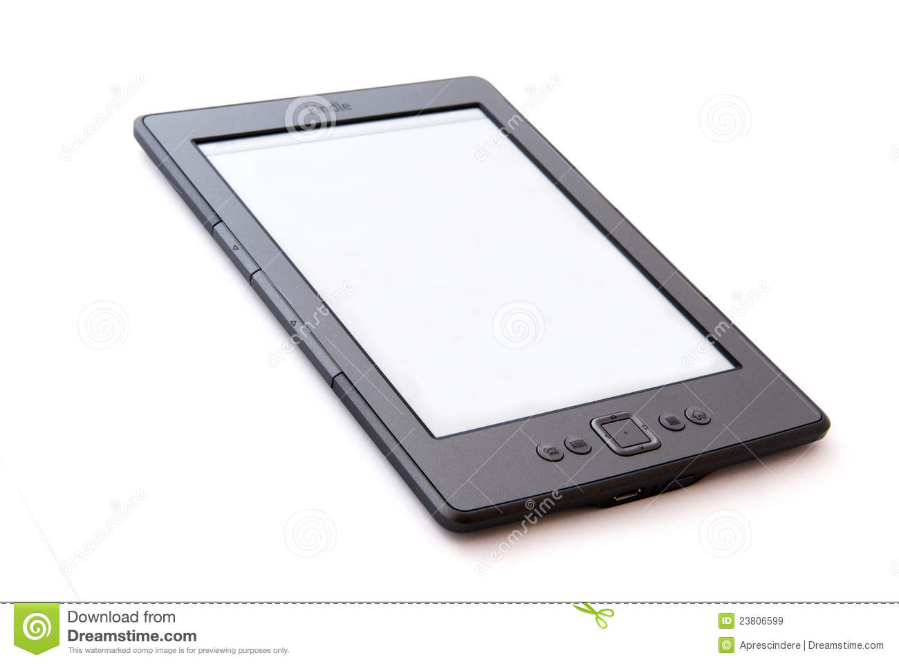 E-Book Reader Amazon Kindle Editorial Stock Image - Image of