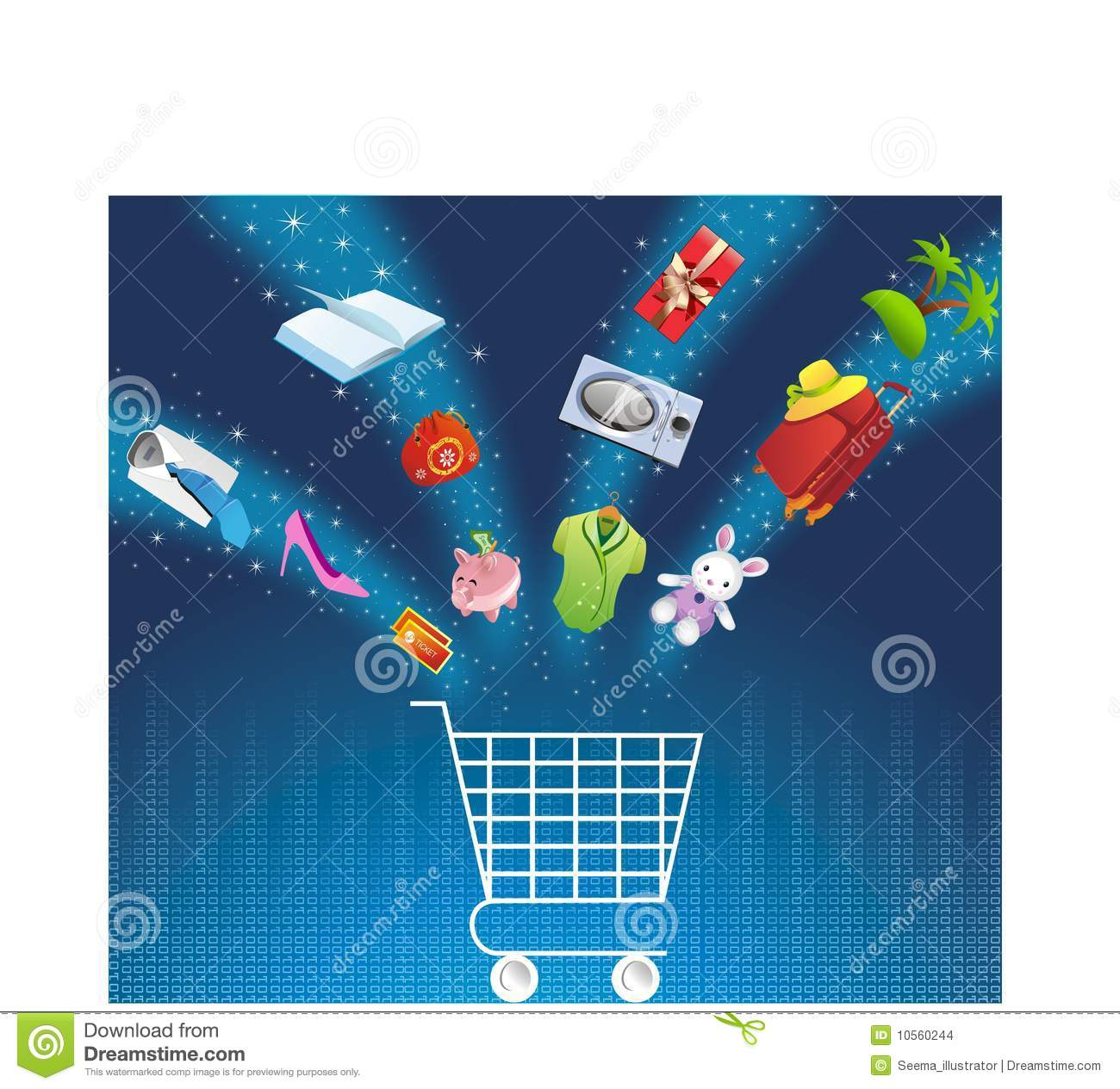 E Commerce Stock Images Image 10560244