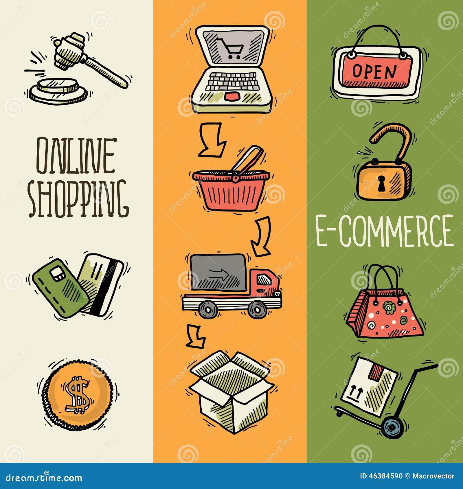 Banner design for e commerce - Banner Coin Commerce Design