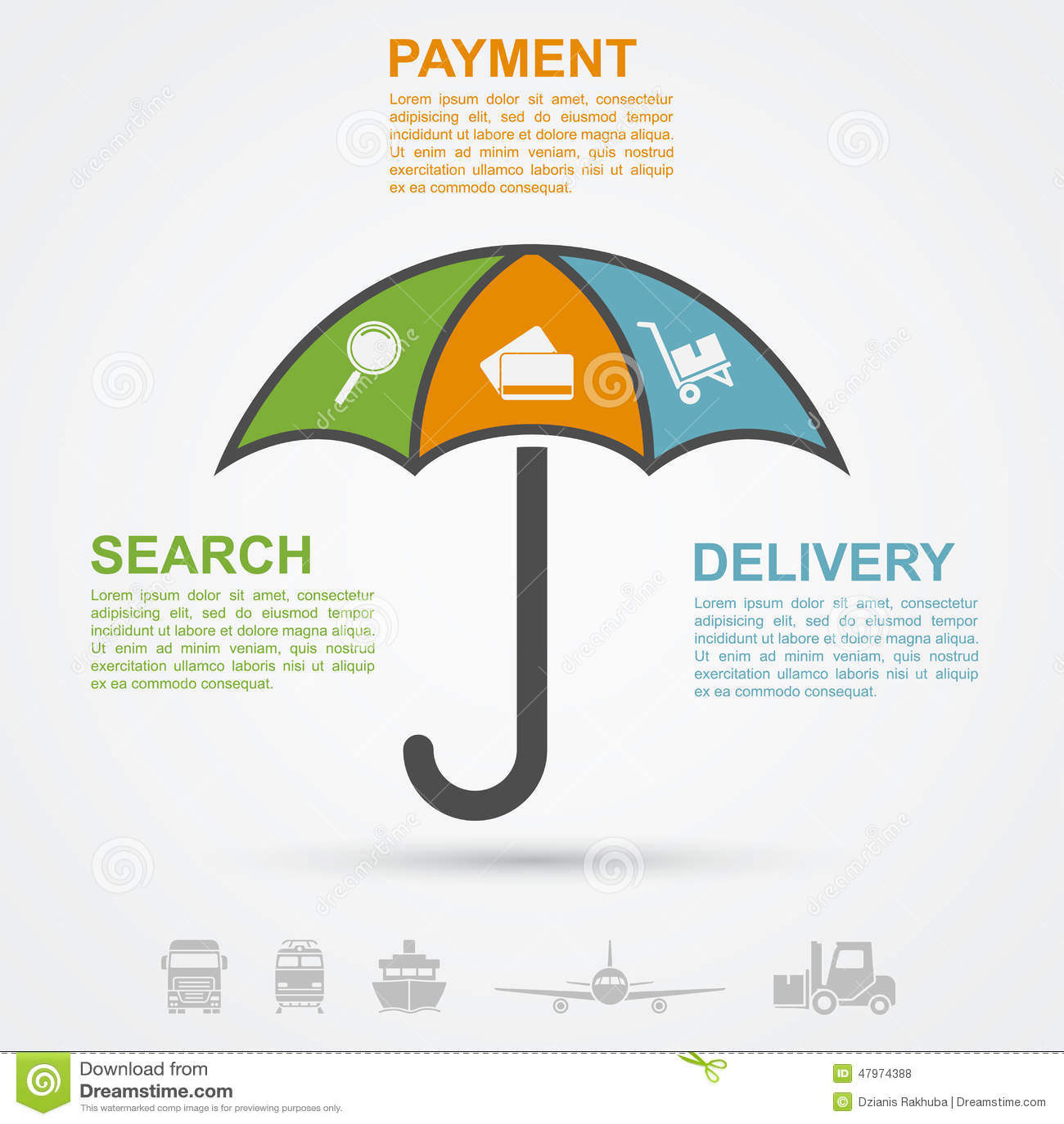 Popy umbrella online shopping