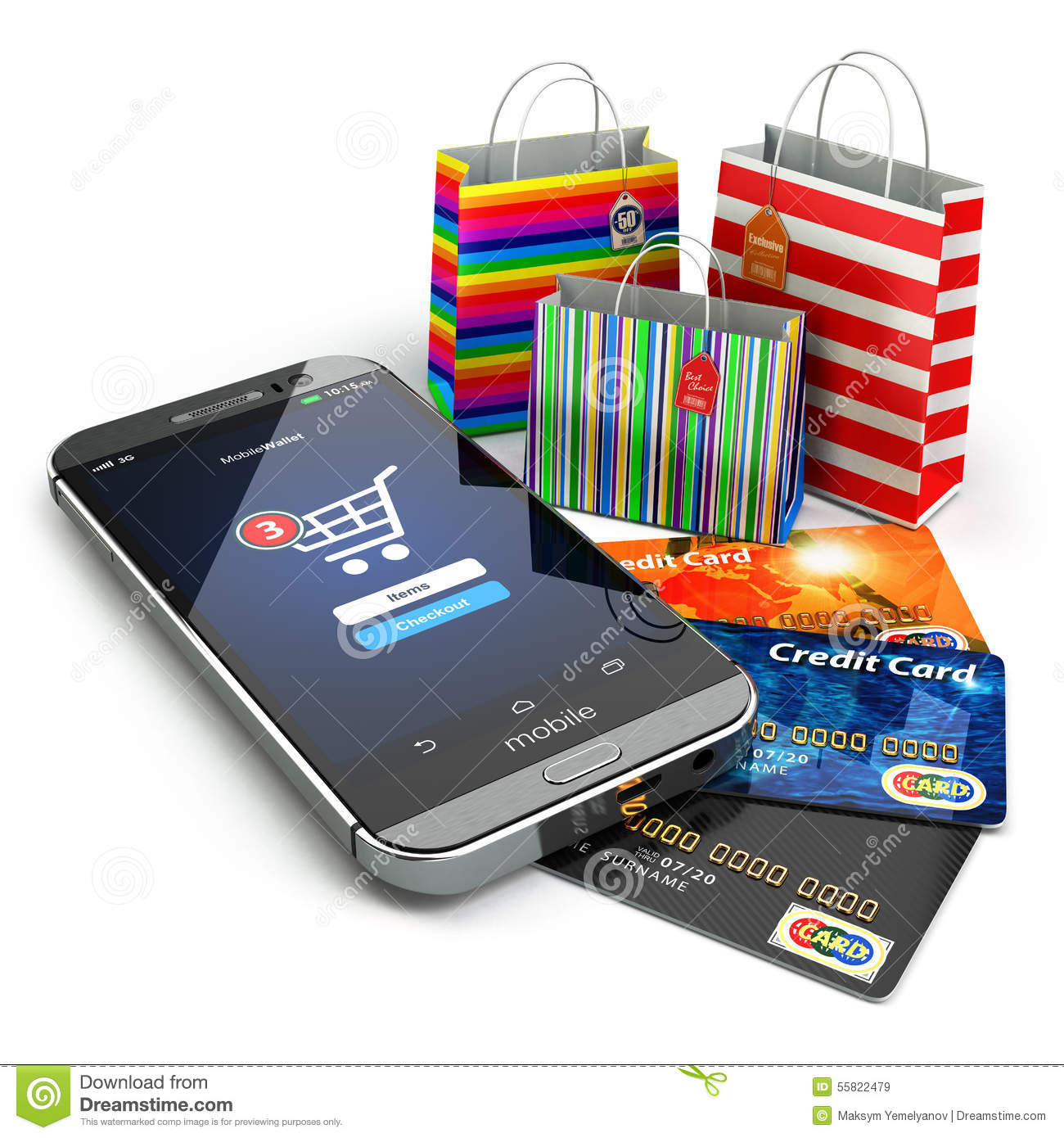 E commerce online internet shopping mobile phone for E commerce mobili