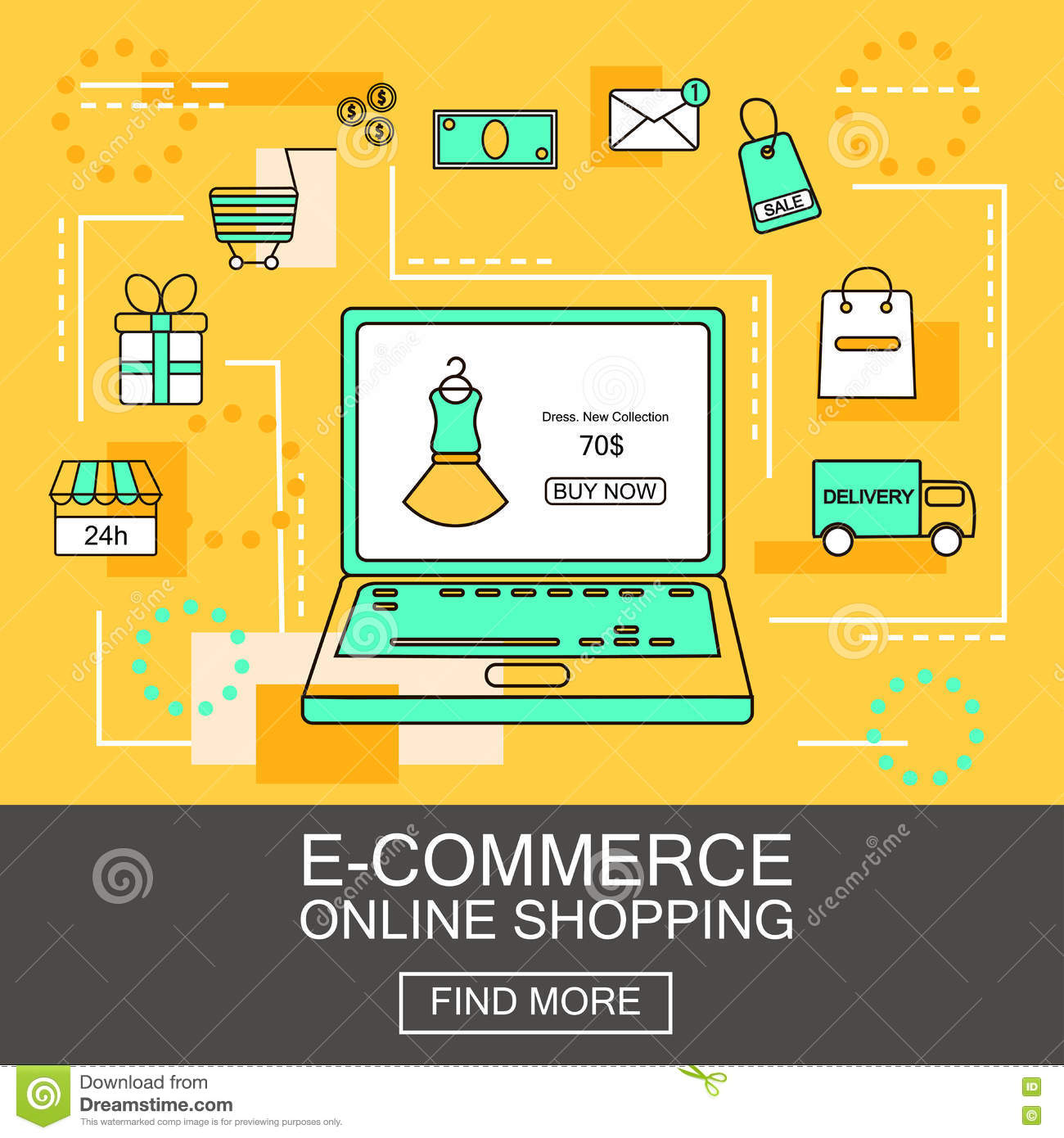 Online mobile exchange shopping