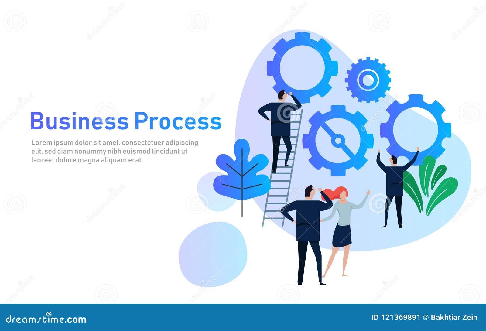 E Conceito de projeto liso para o desenvolvimento de equipas Mãos com engrenagens cooperação que trabalha junto na empresa