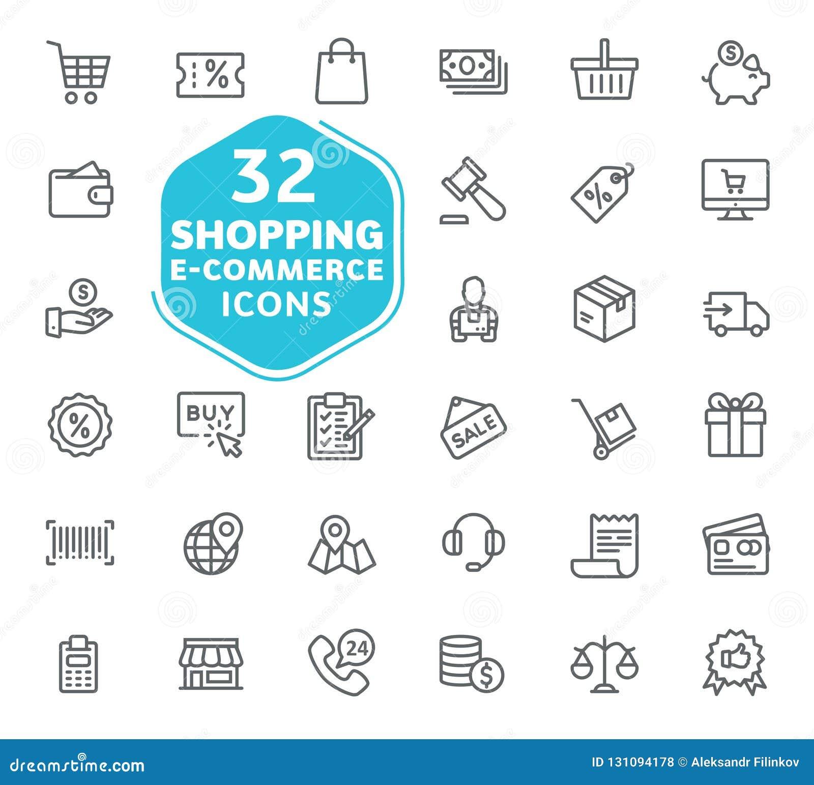 E-kommers, online-shopping och leveransbeståndsdel