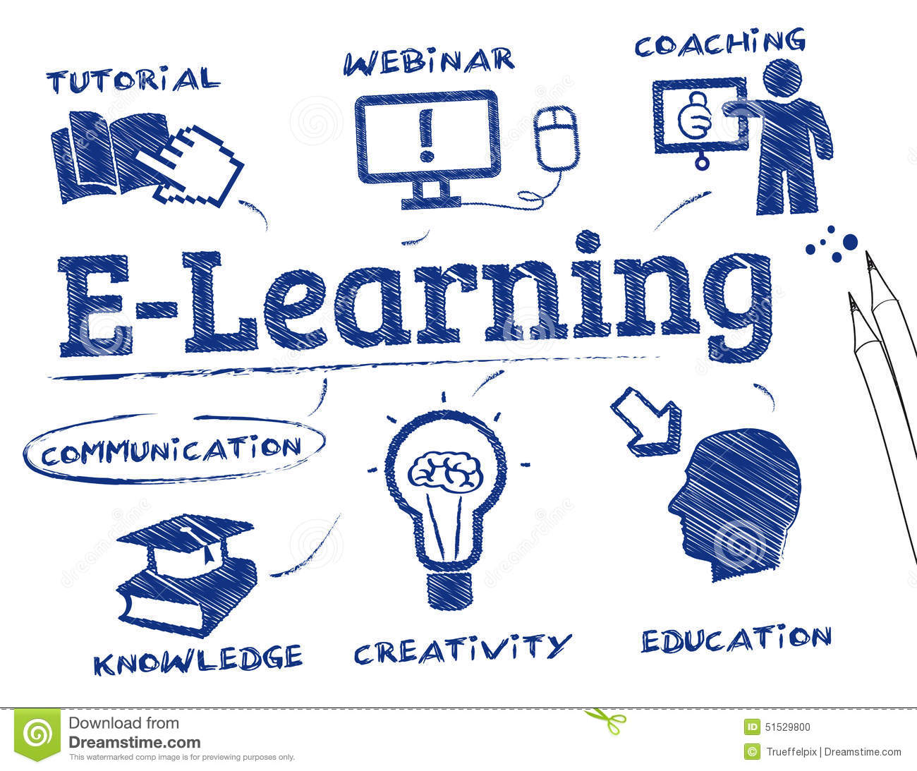Learning Stock Illustration - Image: 51529800