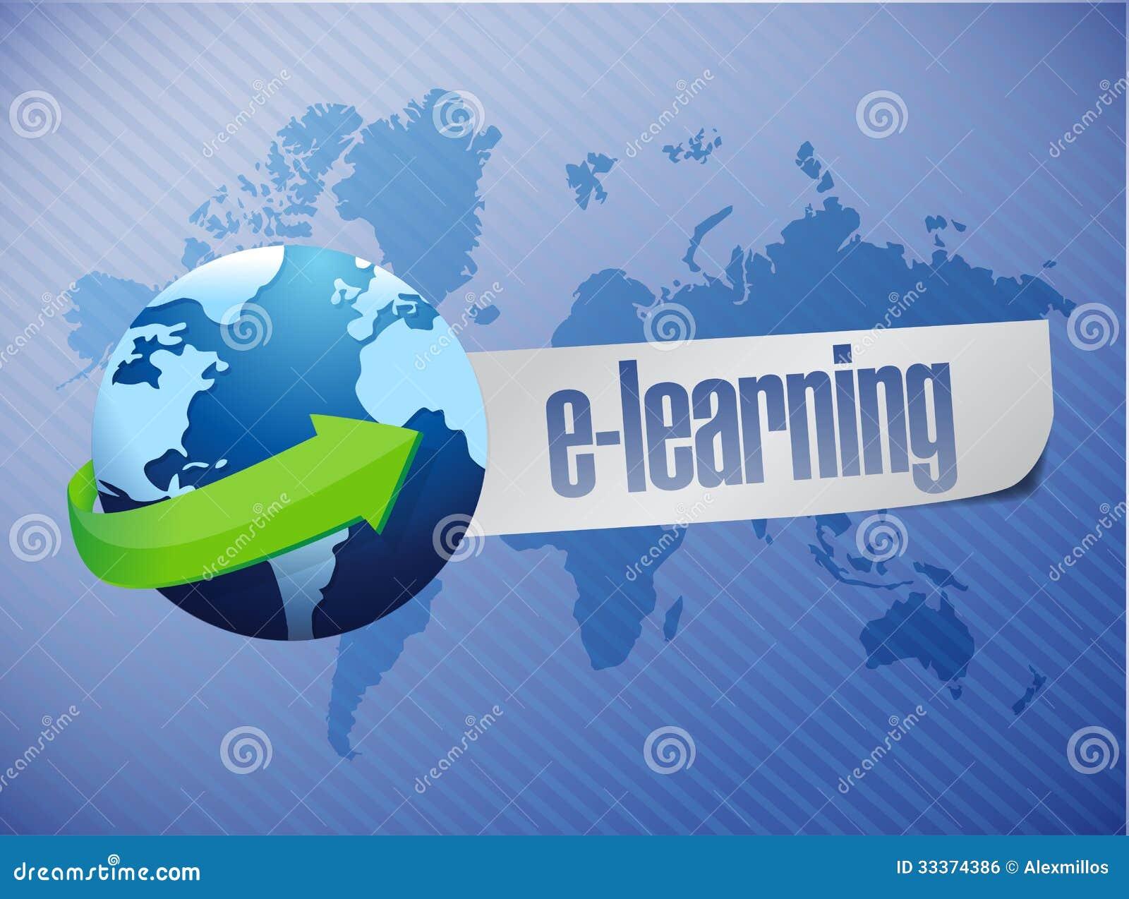 Home Design Program Online Free E Learning Globe Concept Illustration Design Royalty Free