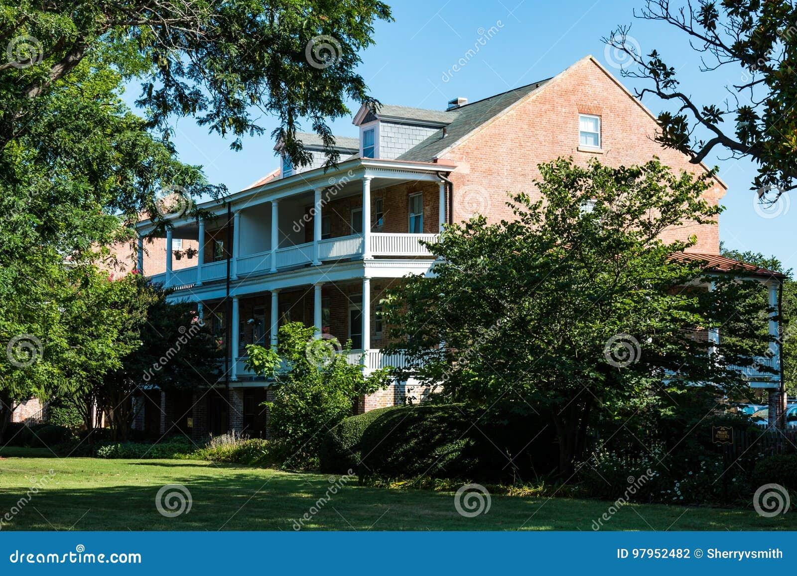 E lee Robert Lee dom przy fortem Monroe w Hampton, Virginia