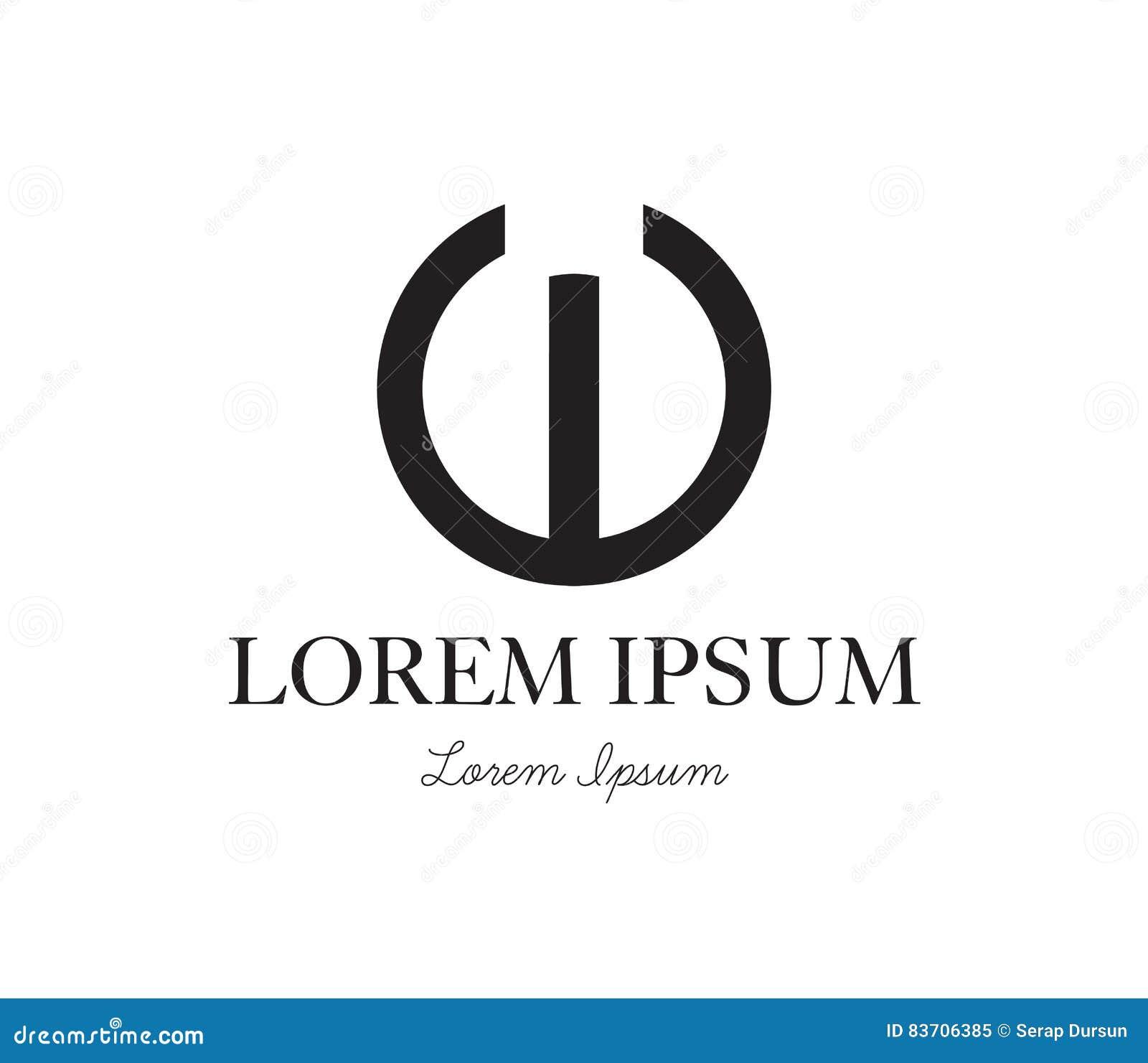 E Logo Concept Design Stock Illustration