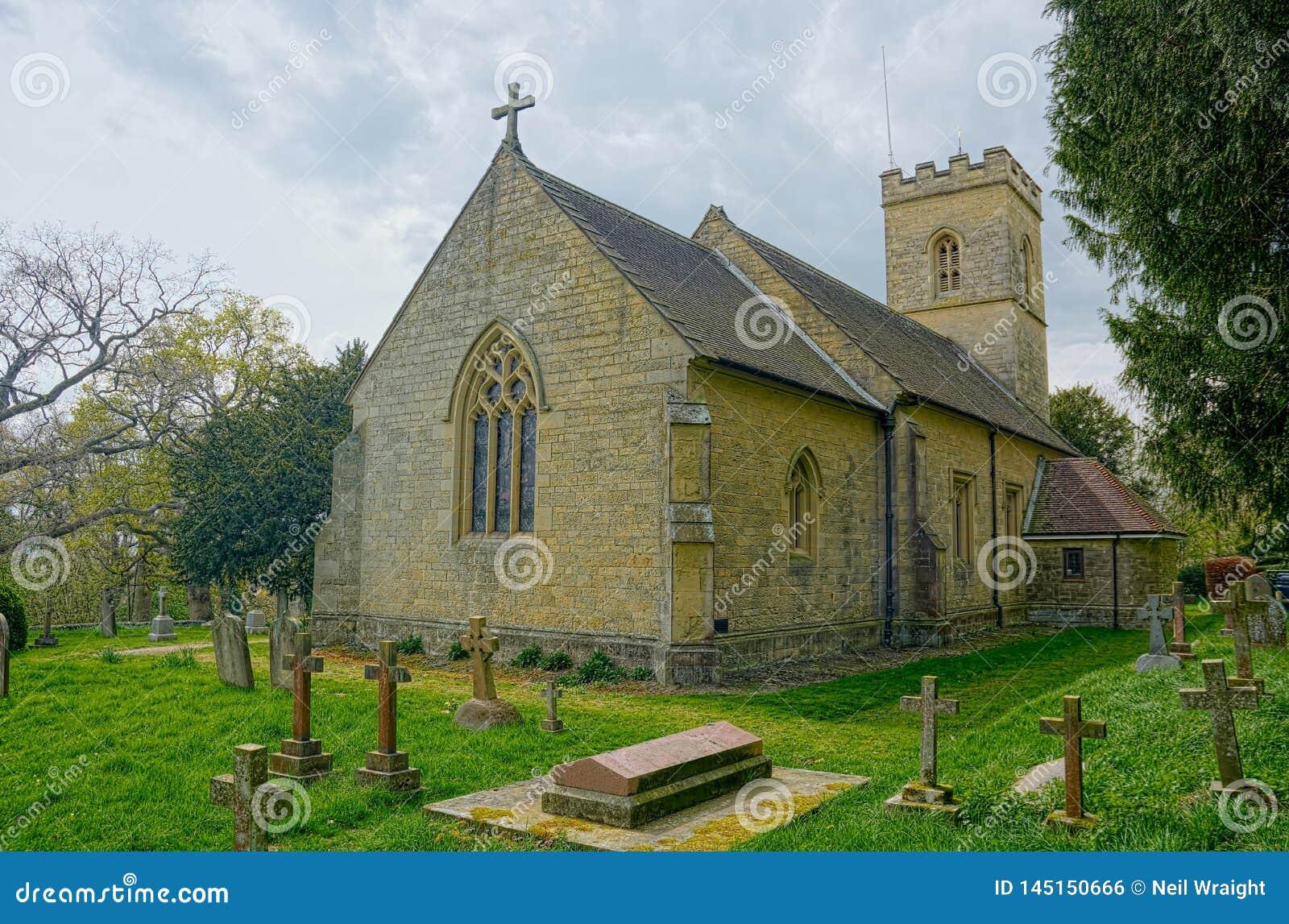 E Lugar do enterro de Octavia Hill Igreja santamente da trindade