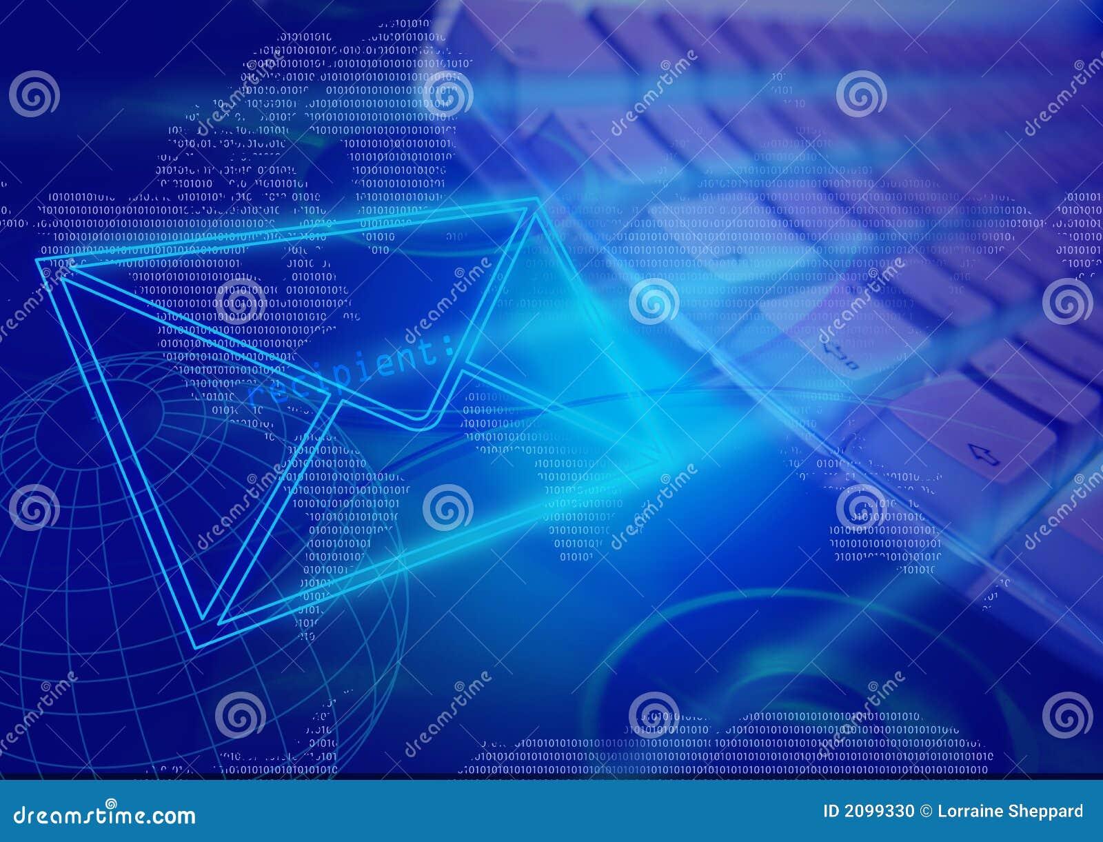 E-mail communicatie computertechnologie