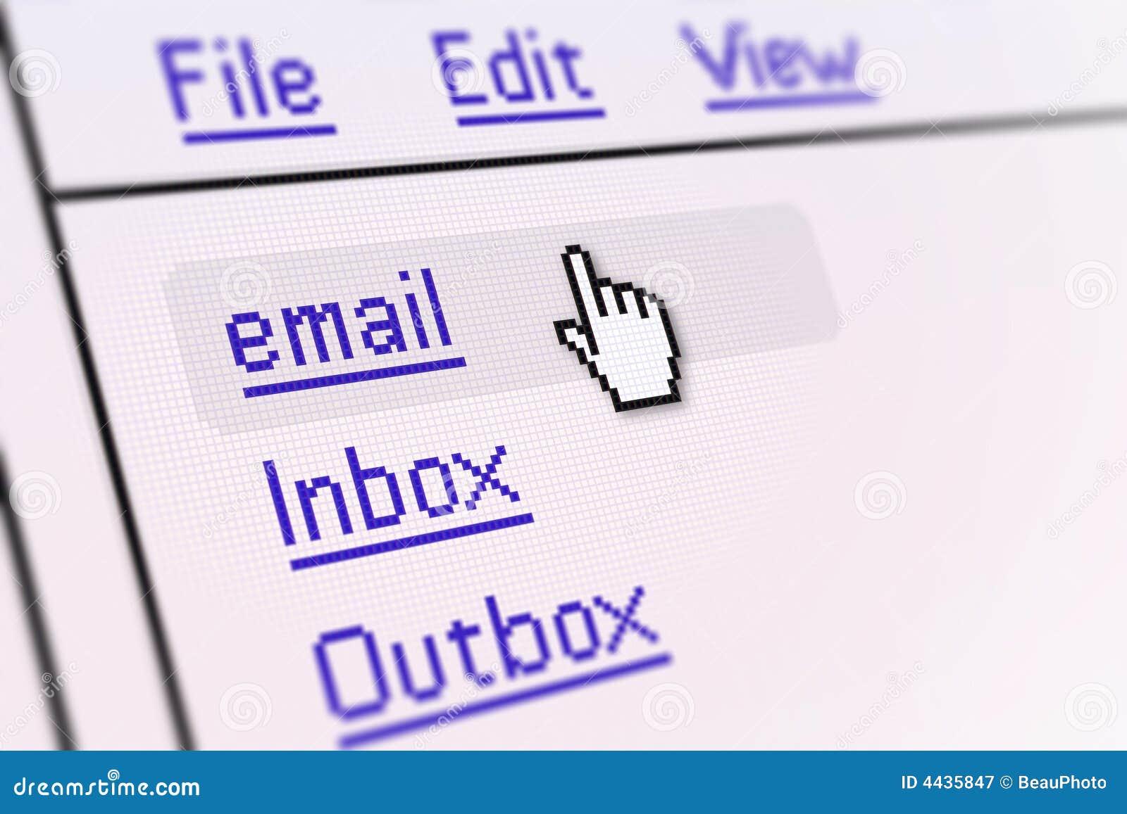 E - mail ekranu