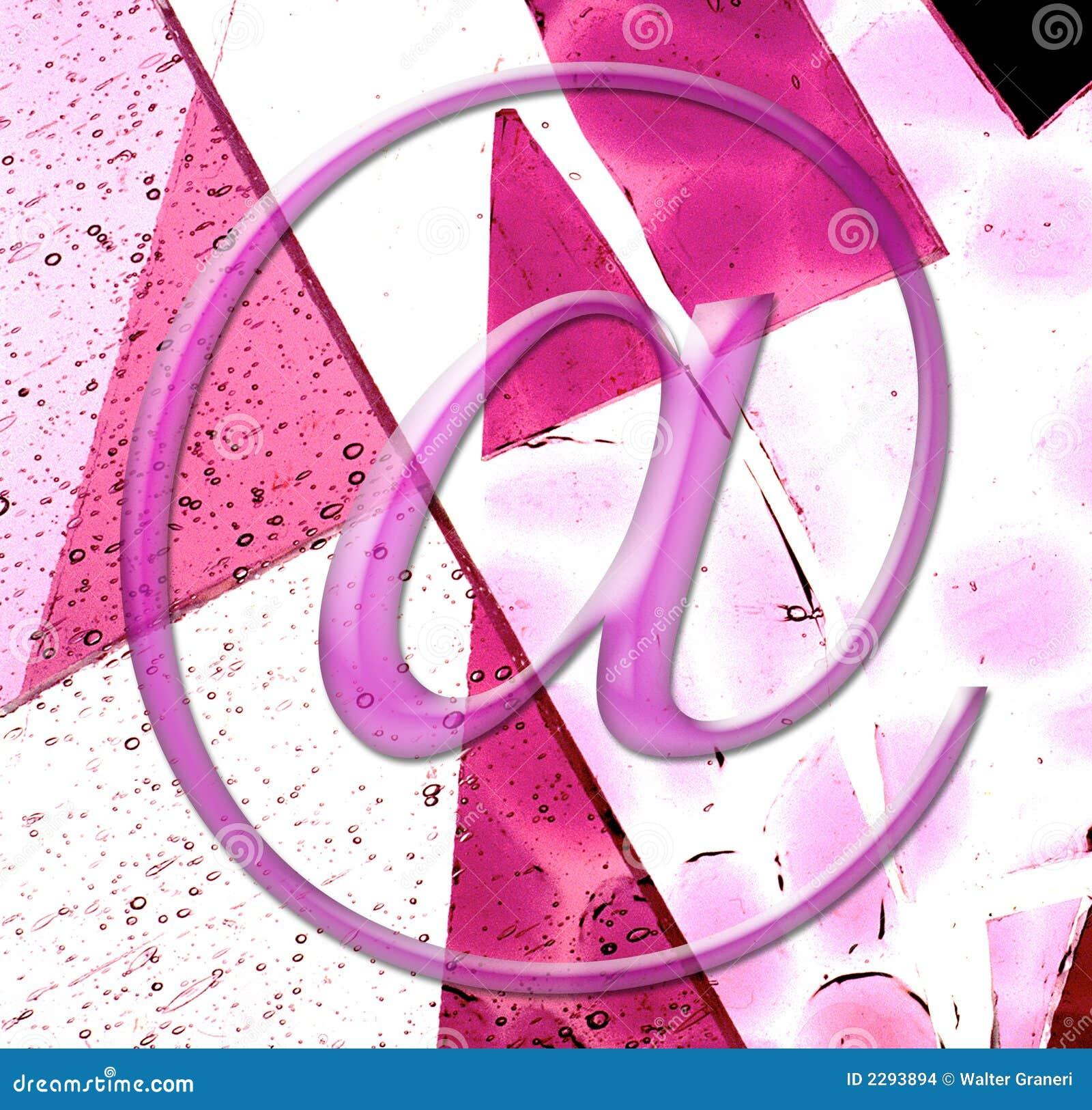 E - mail, symbol