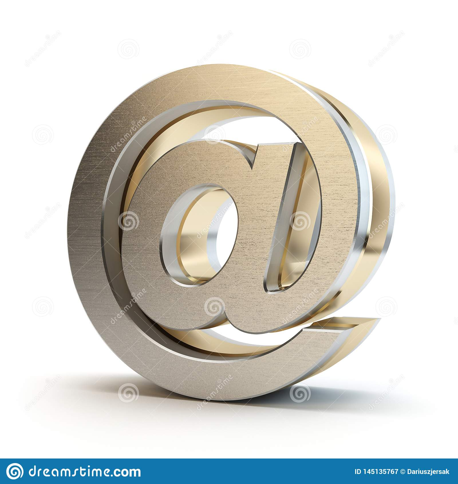 E-mailowy symbol 3D