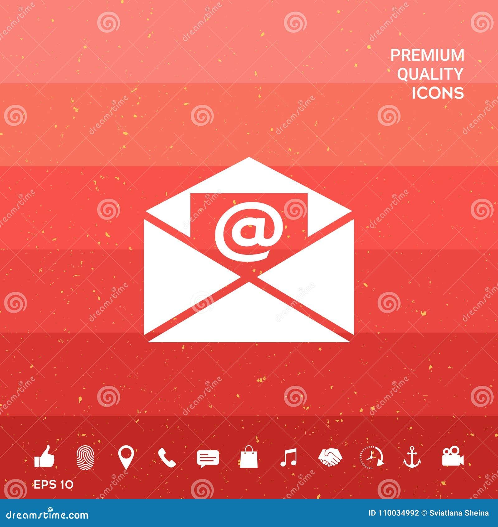 E-mailsymboolpictogram