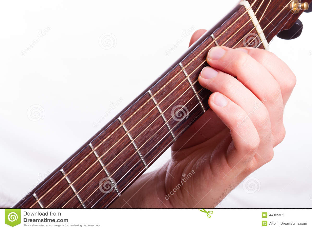 E Major Chord Stock Image Image Of Artist Guitarist 44109371