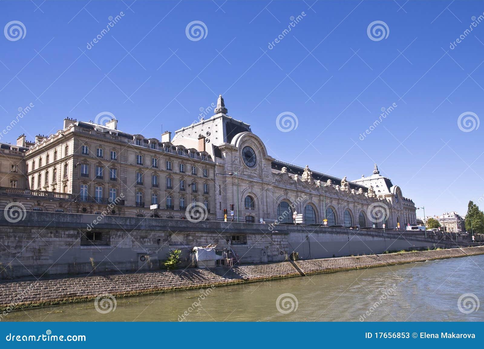 E mus orsay Paris widok