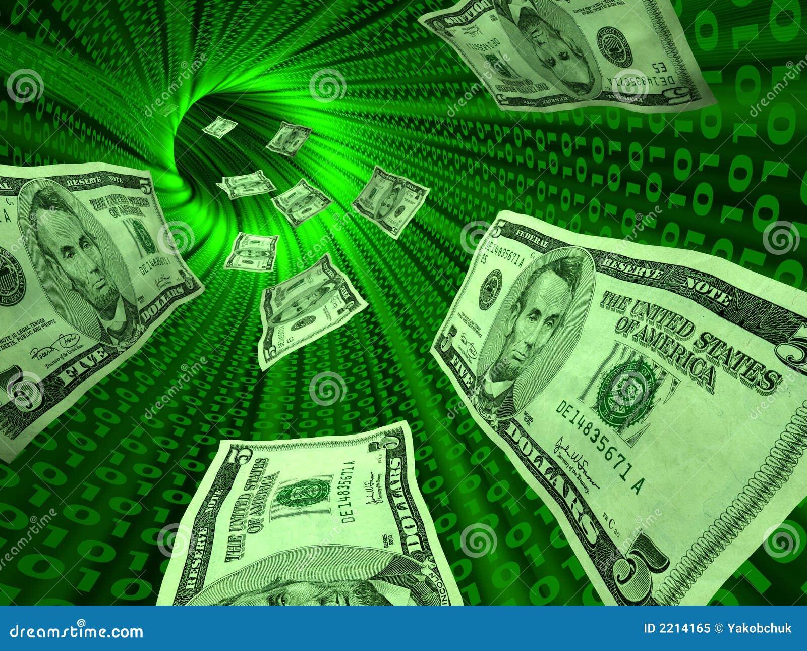 E pieniądze