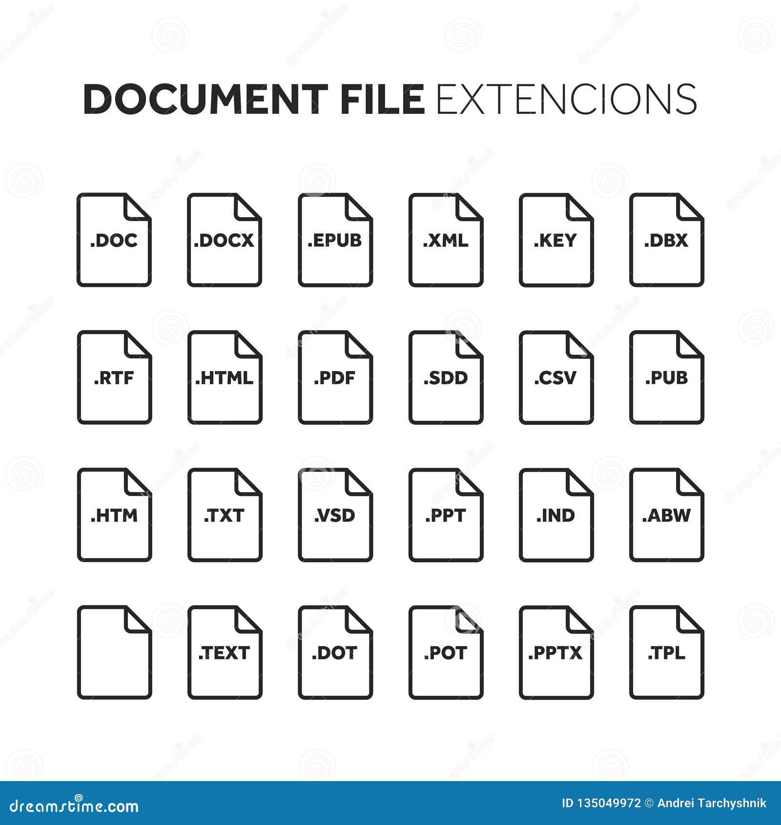 E r Formato de documento pictogram Web e