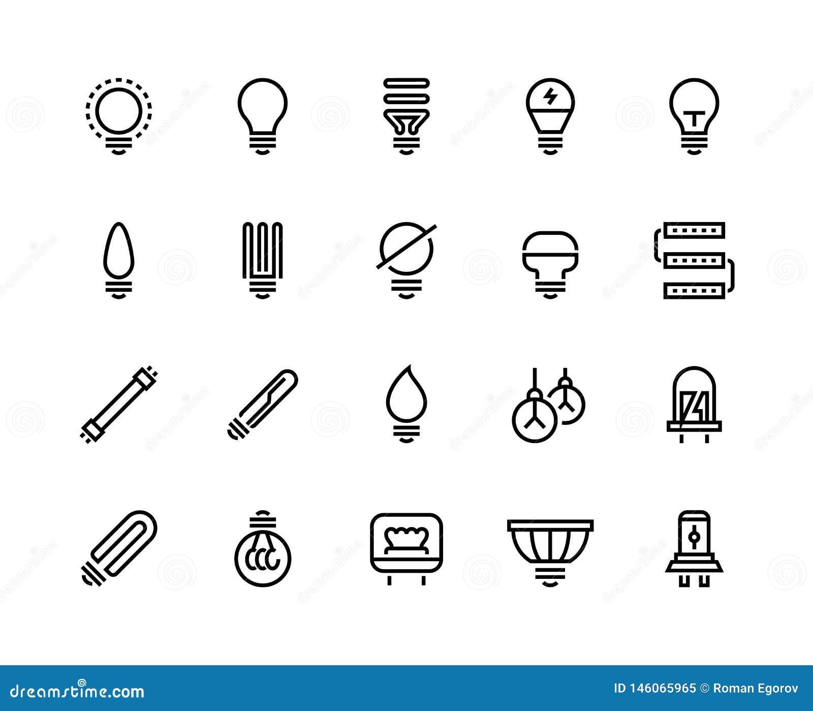 电灯泡线象 企业想法省能源的创造性的图画认为电灯焕发出力效率