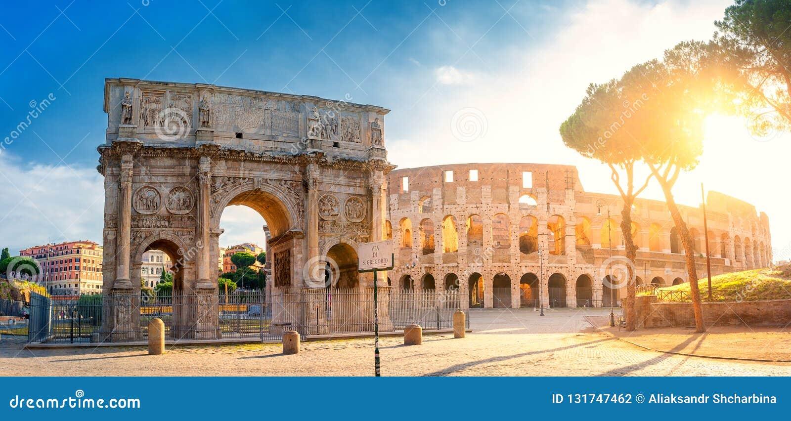 E Rom-Architektur und -markstein