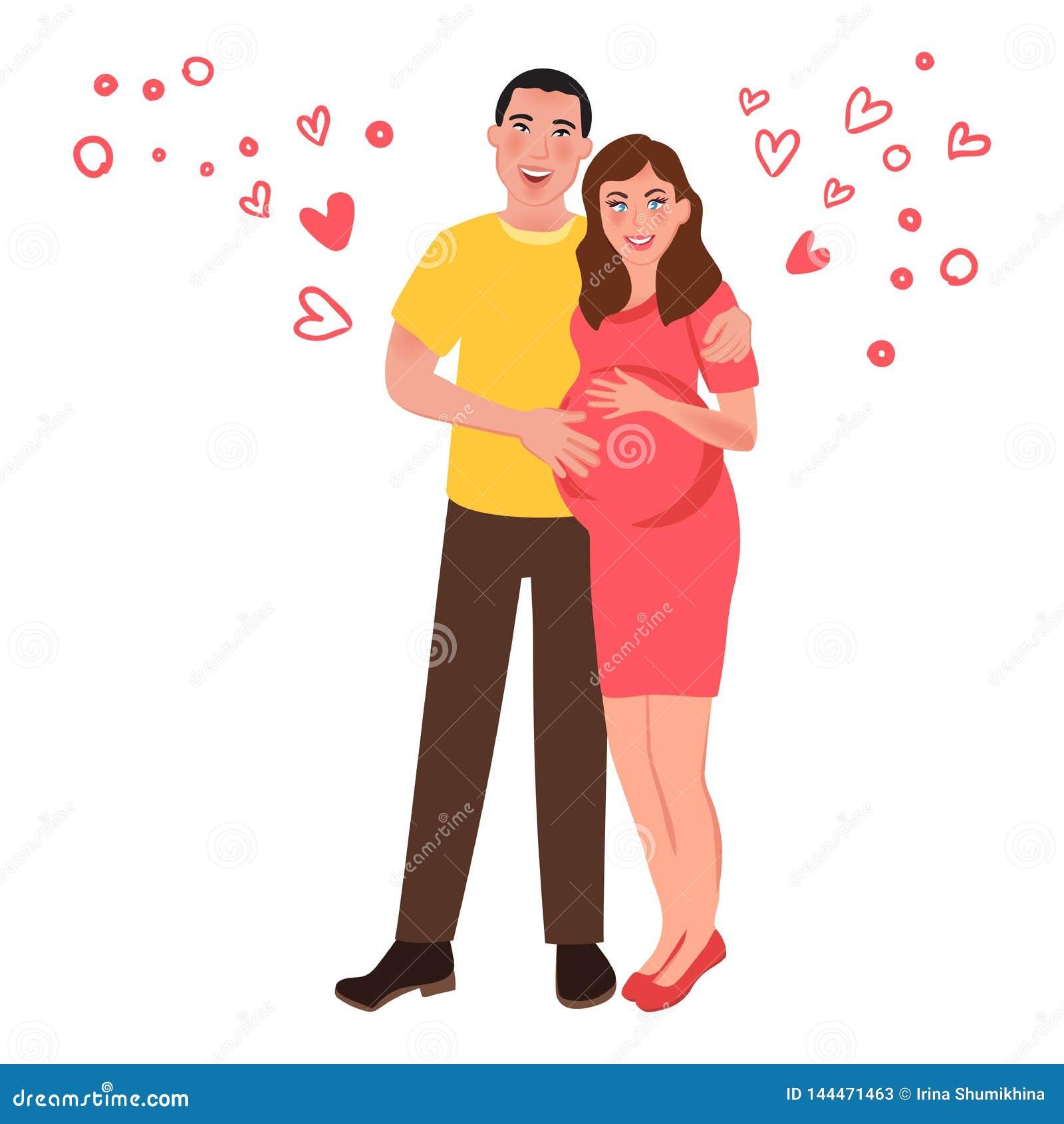 E Sensaciones y amor románticos Ilustración del vector